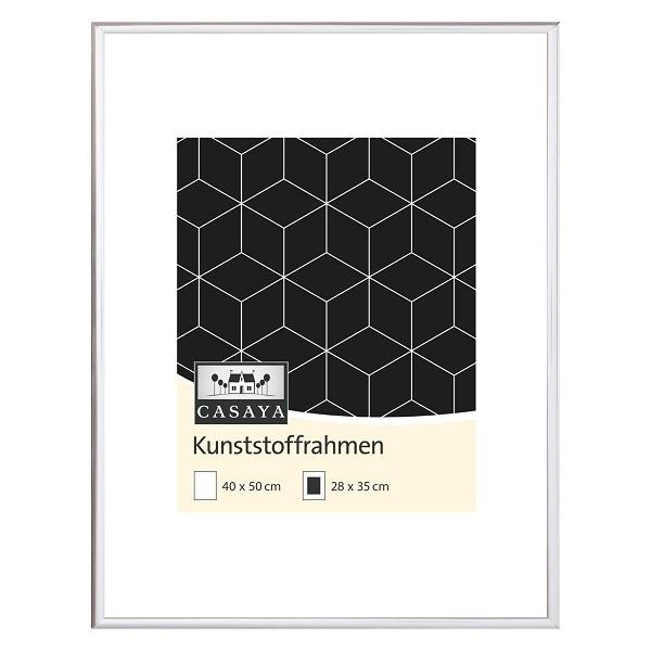 Casaya Bilderrahmen 40x50cm silber