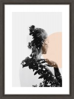 Nielsen Bilderrahmen Linus grau 13x18cm