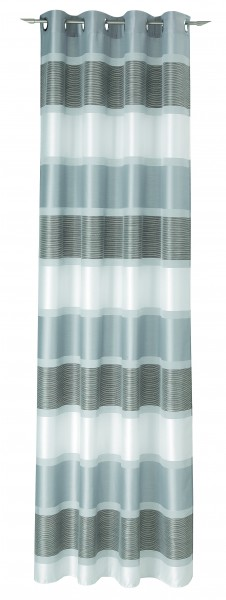 Ösenschal Rialoto silber/90 245x144cm