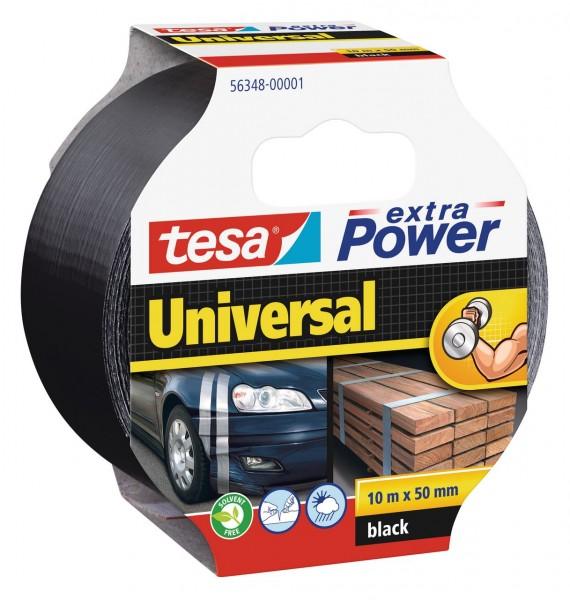 Tesa Extra Power universal 10 m x 50 mm schwarz