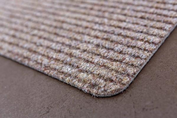 Fußmatte Rib Line Sprint 50x80 cm beige