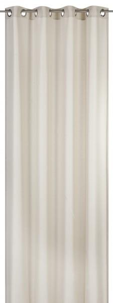 Elbersdrucke Ösenschal Lino beige 140x255cm