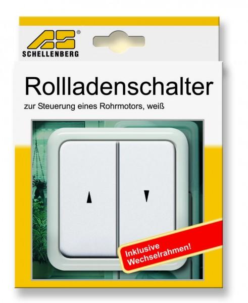 Rollladen-Tastschalter inkl. Rahmen