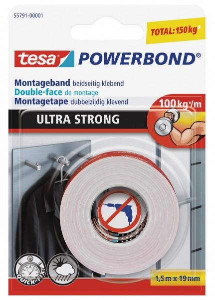 Tesa Powerbond Ultra Strong 1,5 m x 19 mm