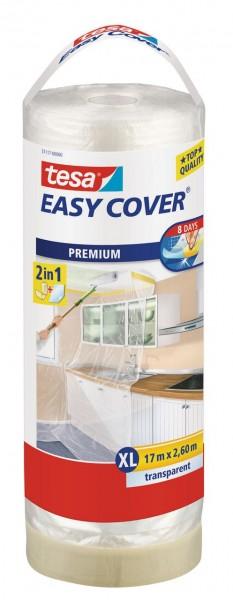 Tesa Easy Cover Premium XL - Abdeckfolie 17 m x 2600 mm Nachfüllrolle