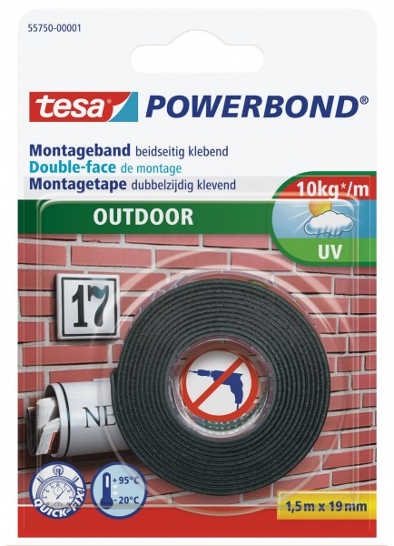 Tesa Powerbond Outdoor 1,5 m x 19 mm