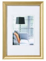 walther design Bilderrahmen Lounge gold 15x20cm