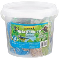 Gartenkrone Wildvogelfutter-Set 3kg