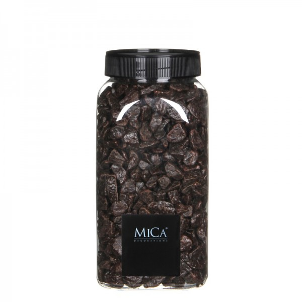 Mica Dekokies dunkelbraun 1kg