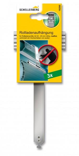 Rollladenaufhängung Mini rostfrei