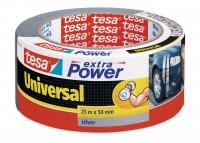 Tesa Extra Power universal 25 m x 50 mm silber