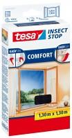 tesa Insect Stop Fliegengitter Comfort 1,3x1,3m anthrazit