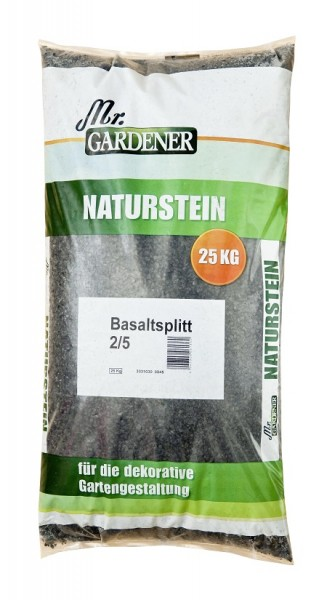 Mr GArdener Basaltsplitt 2-5mm 25kg