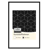 Casaya Kunststoffrahmen 50x70cm schwarz