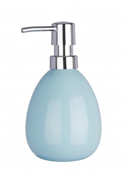 Wenko Serie Polaris Pastel Blue Seifenspender