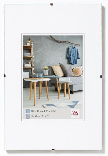 walther design rahmenloser Bildhalter 13x18cm