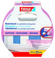 Tesa Malerband Tapeten 25 m x 25 mm