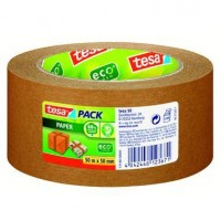 Tesapack Paper Ecologo 50 m x 50 mm braun