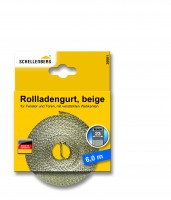 Gurtband 23 mm/6,0 m Maxi beige