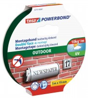 Tesa Powerbond Outdoor 5 m x 19 mm