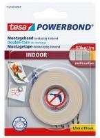 Tesa Powerbond Indoor 1,5 m x 19 mm