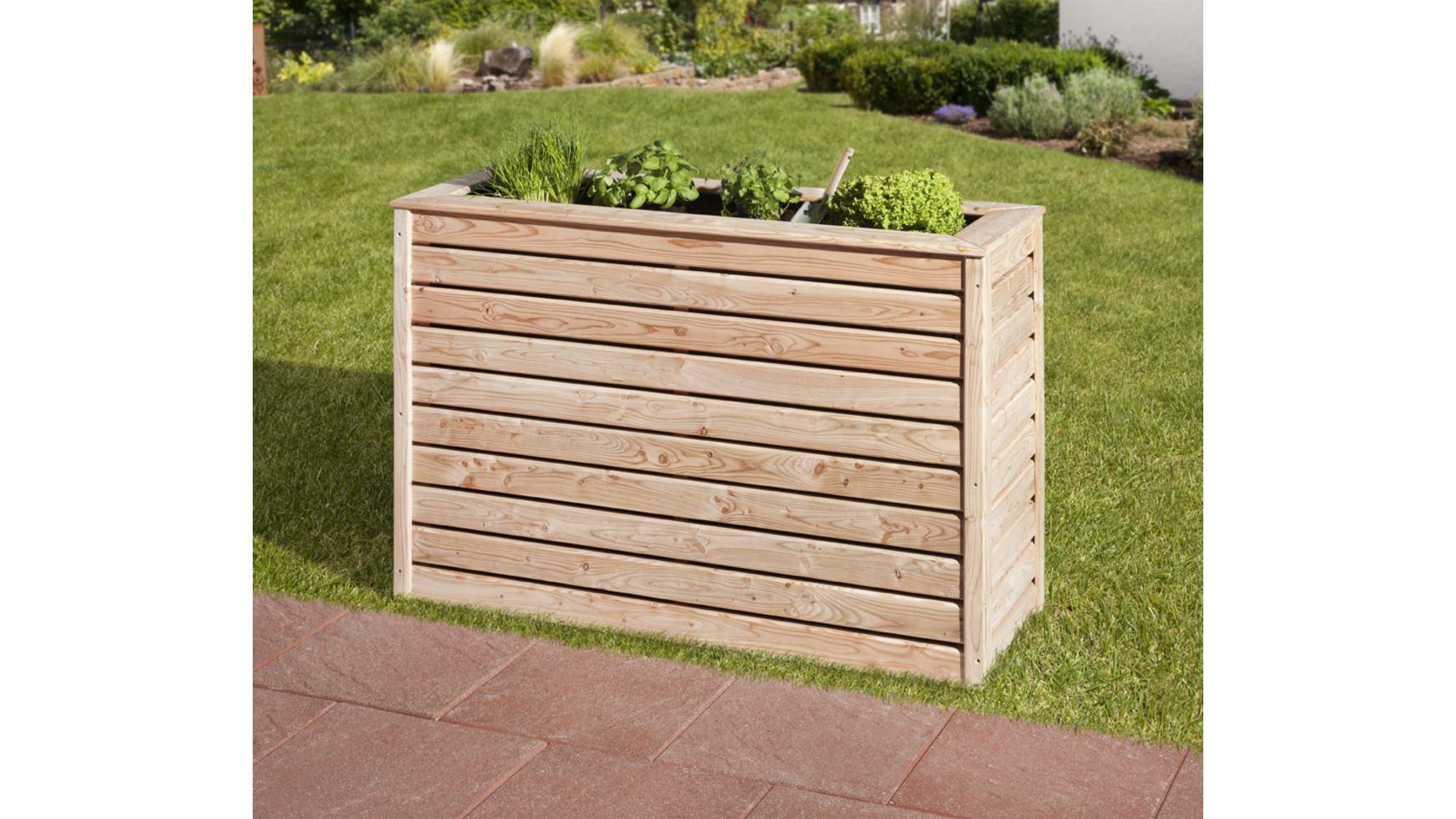 Mr Gardener Hochbeet Schmal 45x125x80 Cm Larche Hochbeete