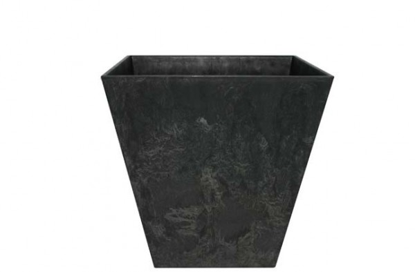 Artstone Topf Ella 35cm schwarz
