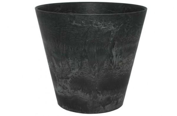 Artstone Topf Claire 47cm schwarz