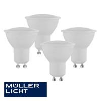 Müller Licht LED Reflektoren 4er Pack GU 10