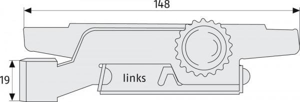 Rolladensicherung RS 97 SB Maße