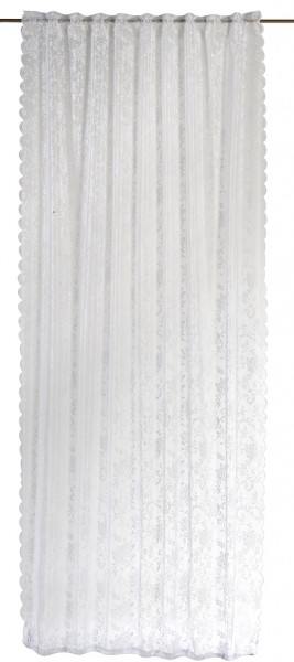 Elbersdrucke Schlaufenschal Rosanna 140x255cm weiß
