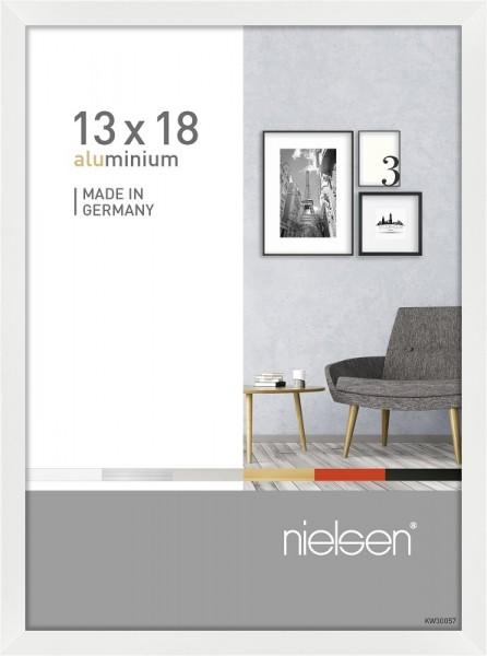 Nielsen Bilderrahmen Pixel weiß 13x18cm