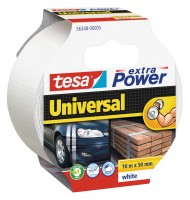 Tesa Extra Power universal 10 m x 50 mm weiss