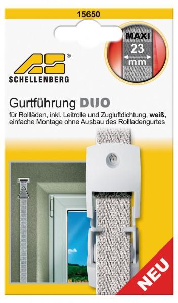 Gurtführung Duo Maxi Leitrolle + Zugluftdichtung