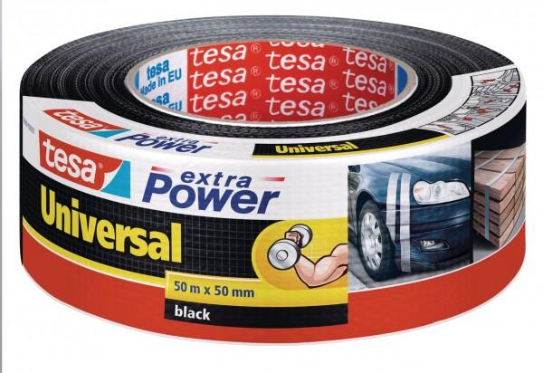 Tesa Extra Power universal 50 m x 50 mm schwarz