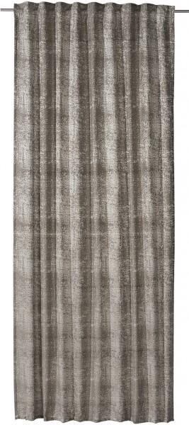 Schlaufenbandschal Patina 140x255 cm braun grau