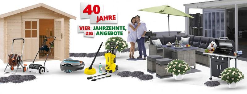 40 Jahre Hagebau Kronen Hagebaumarkt
