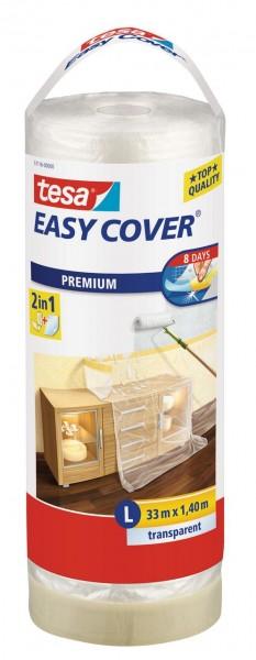 Tesa Easy Cover Premium L - Abdeckfolie 33 m x 1400 mm Nachfüllrolle