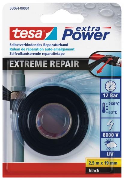 Tesa Extreme Repair 2,5 m x 19 mm schwarz