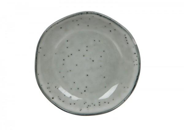Teller Tabo H2xD.14 cm grau