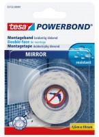 Tesa Powerbond Spiegel 1,5 m x 19 mm