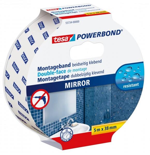 Tesa Powerbond Spiegel 5 m x 38 mm