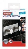 Tesa Powerbutton Doppelhaken Classic