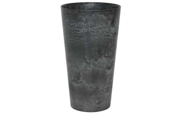 Artstone Claire Vase 42cm schwarz