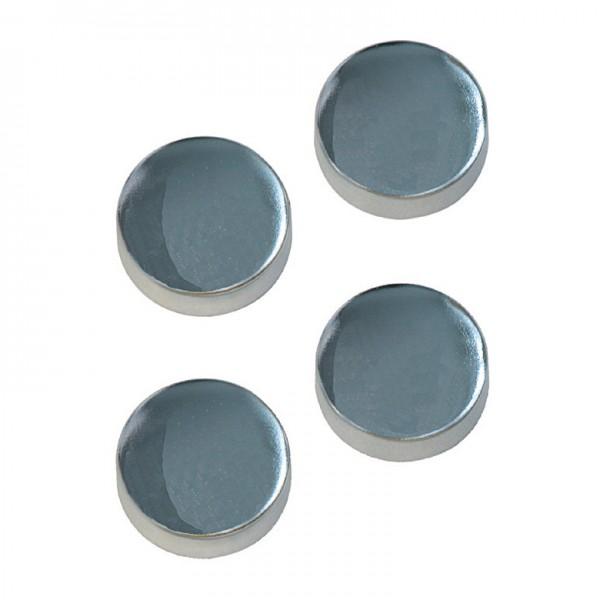 Ersatzkappen für WC-Befestigung chrom, 2 Stück
