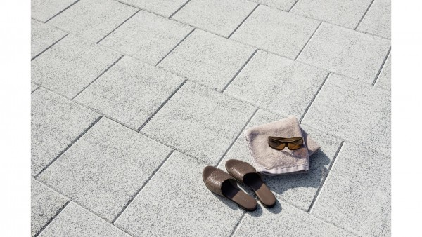 Mr Gardener Terrassenplatte Morena weiß