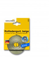 Gurtband 23 mm/4,5 m Maxi beige