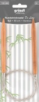 Gründl Rundstricknadel Bambus 80cm 9,0mm
