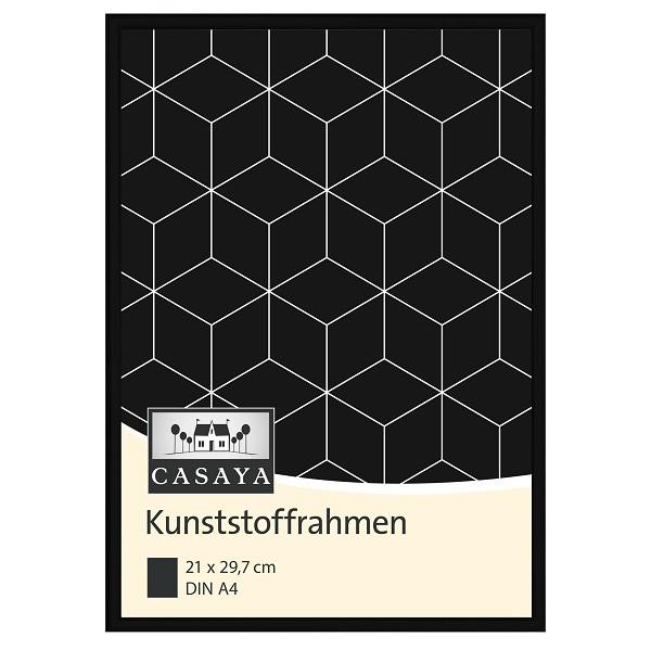Casaya Kunststoffrahmen schwarz 21x29,7cm