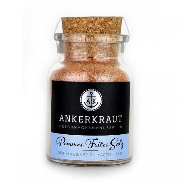 Ankerkraut Pommes Frites Salz, 130g Korkglas